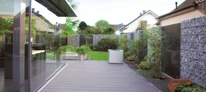 Gabionenmauer Bis 2 4m Hohe Kein Bausatz Gabione Premium